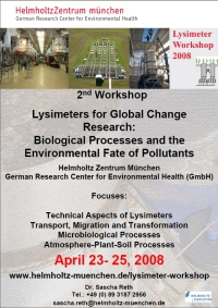 gsf - Lysimeter Workshop